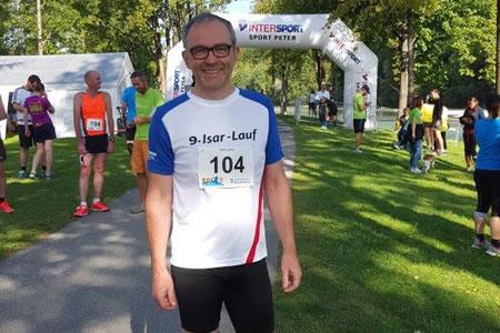 Steuerberater Ulrich Dericks - Seine Hobbys - Isarlauf 2017